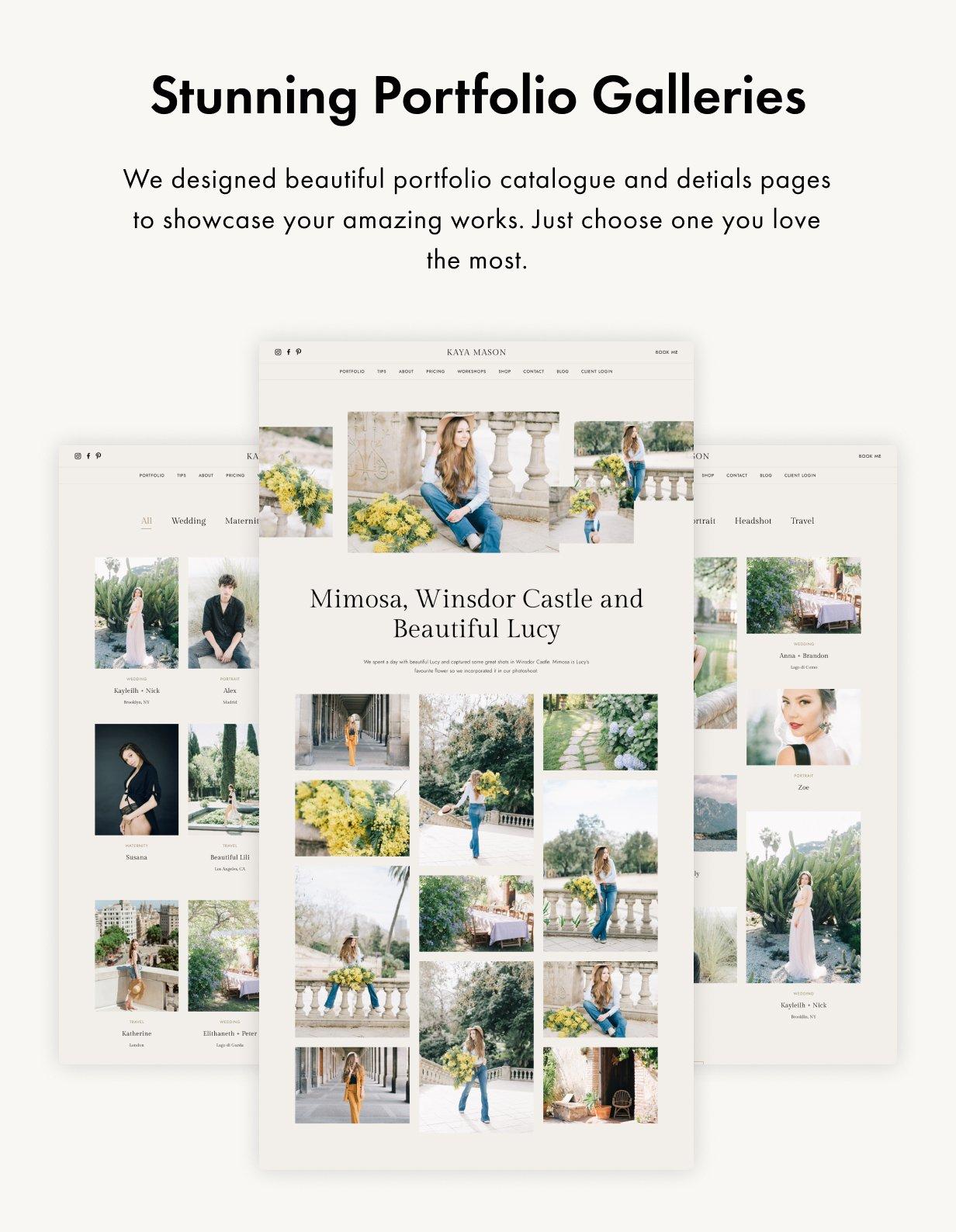 Palette WordPress Theme Presentation Image